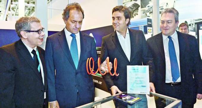 Scioli participó de la Feria Internacional de autopartistas