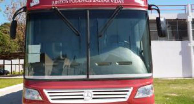 El móvil de donación de sangre del Garraham llegó a la UNLaM