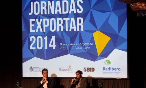 INTENSO TRABAJO Y MASIVA ASISTENCIA EN LAS JORNADAS EXPORTAR 2014