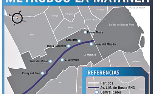 La Matanza, con buses articulados en 2015