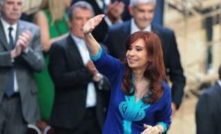 La Presidenta inauguró el mega-centro de distribución de Coca Cola en La Matanza