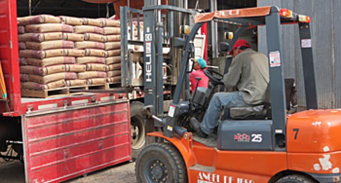 La venta de materiales para la construcción trepó a 8,4 por ciento en abril