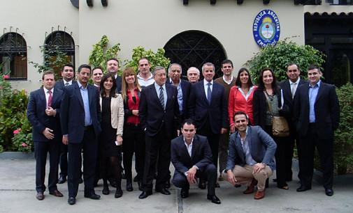 Más de 20 empresas matanceras participan de una misión comercial en Bolivia