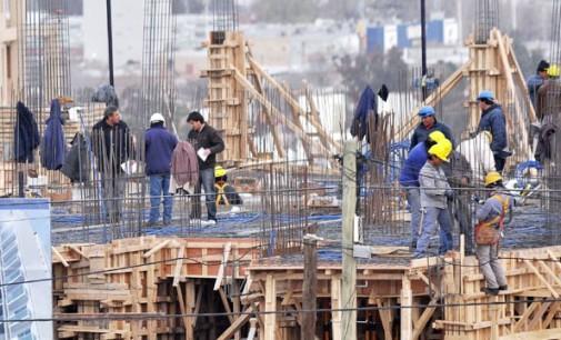 Crece el empleo en la industria de la construcción