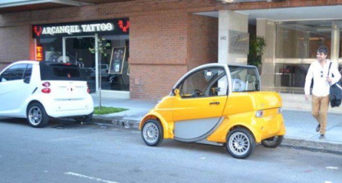 El auto eléctrico matancero espera su habilitación en Morón