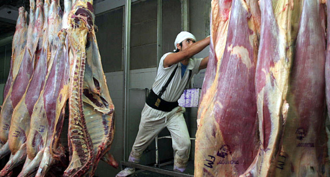 En lo que va del año, el consumo de carne creció 4%