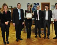 La Matanza reconoció a Giorgi por su gestión en favor de la industrialización