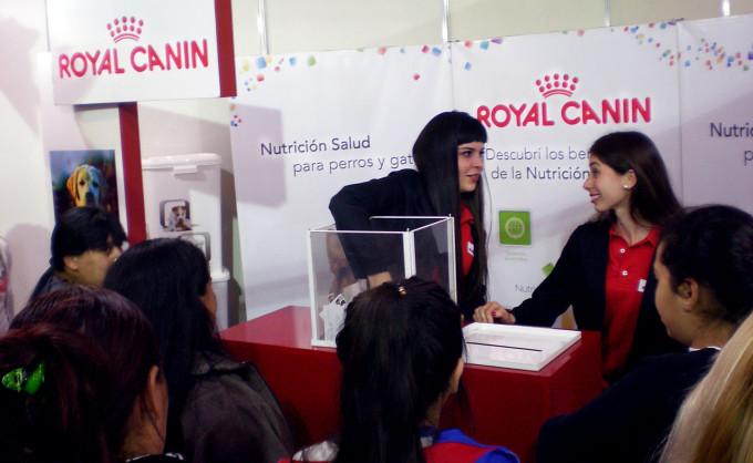 Royal Canin se lució en Expo Matanza 2015