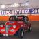 Autos antiguos que embellecieron los exteriores de la expo