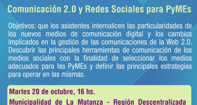 SEMINARIO «COMUNICACION 2.0 Y REDES SOCIALES PARA PYMES»