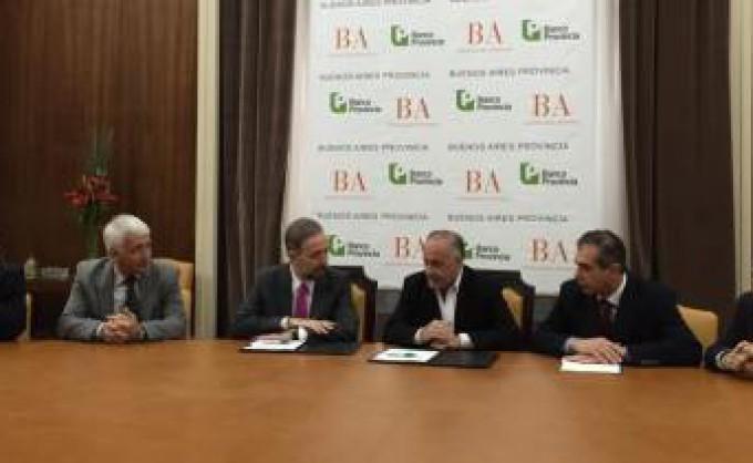 Convenio entre FEBA y Banco Provincia