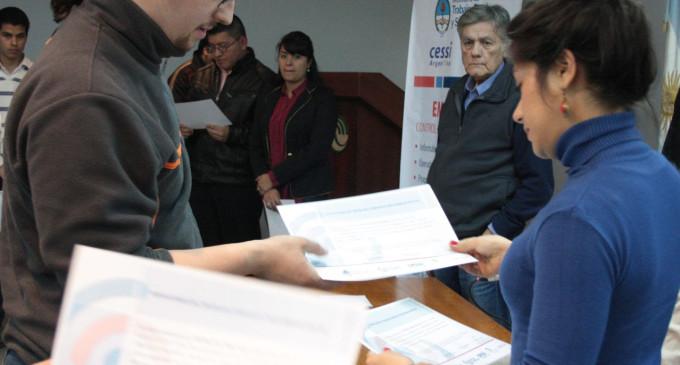 La UNLaM entregó diplomas del Empleartec 2015