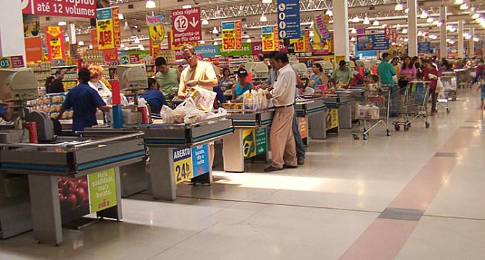 Las ventas en los híper y supermercados crecieron en octubre