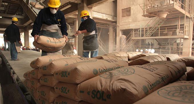 El consumo interno de cemento continúa en baja