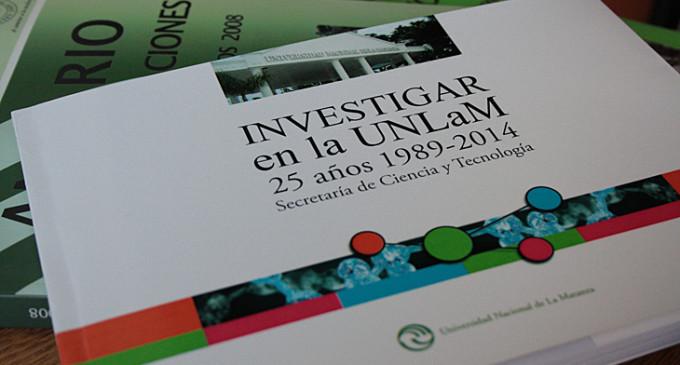 La UNLaM alcanzó un importante desarrollo en tareas de investigación