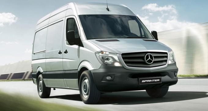 Mercedes Benz presenta el restyling de la Sprinter