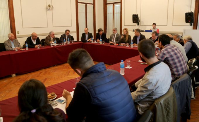 Encuentro del Consejo Participativo del plan estratégico municipal