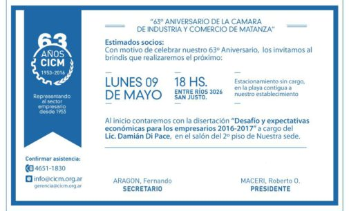 La CICM celebra su 63º aniversario