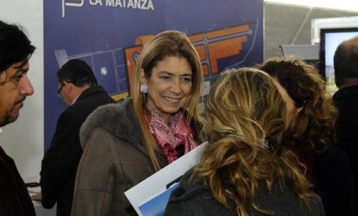Débora Giorgi visitó la Exposición de Parques Industriales de la Provincia de Buenos Aires