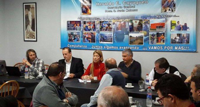 Nueva reunión de Giorgi con sectores de la construcción