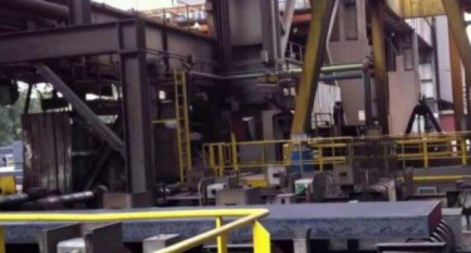 Producción de acero cayó 16,9%