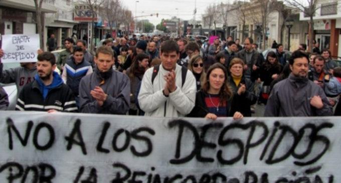 """Advierten que, en La Matanza, ya hay 15.000 despidos, suspensiones y retiros """"forzados"""""""