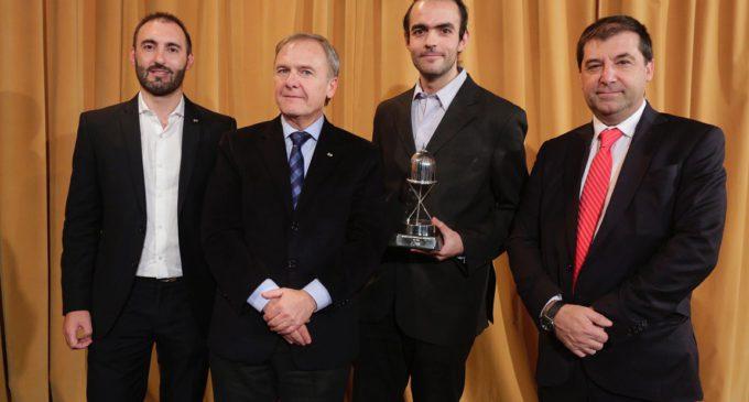 CAME:Un doctor en Física, ganador del Premio Joven Empresario Argentino