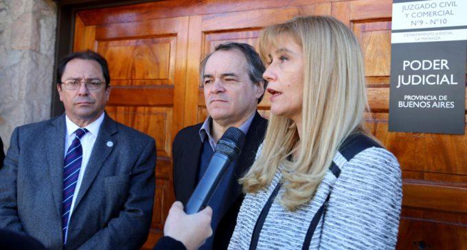 La Justicia aceptó el amparo que solicitó Verónica Magario y se frenan los tarifazos en La Matanza