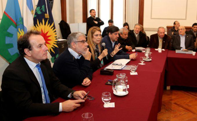Débora Giorgi encabezó una reunión con las cámaras empresariales de La Matanza
