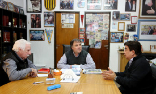 Fernando Espinoza se reunió con la UOM de La Matanza
