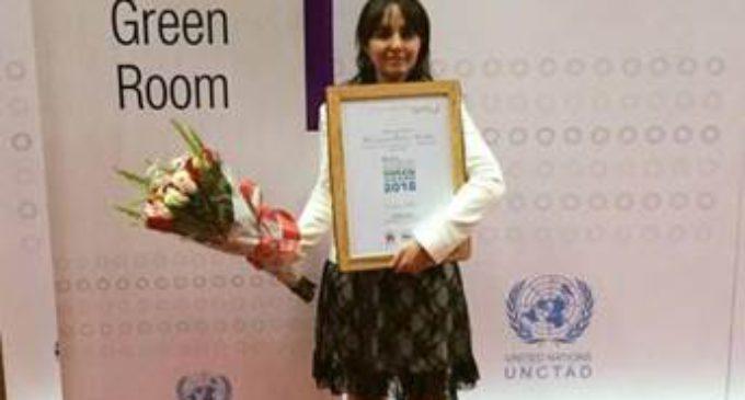 La ONU premió a una emprendedora de la FEM