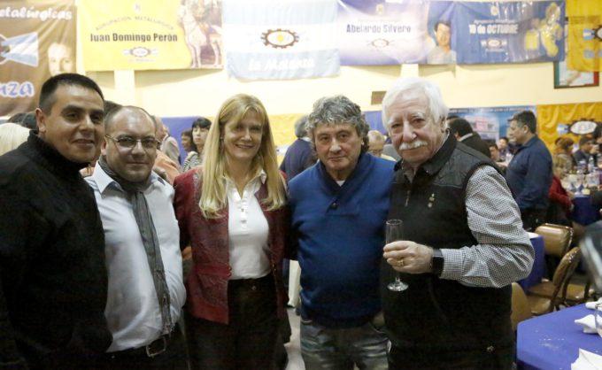 Verónica Magario participó de los festejos por el Día del Metalúrgico