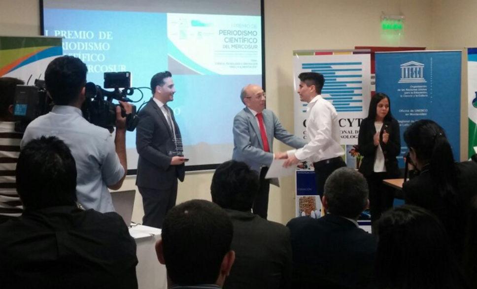 La Agencia CTyS-UNLaM ganó el Premio Periodismo Científico del MERCOSUR