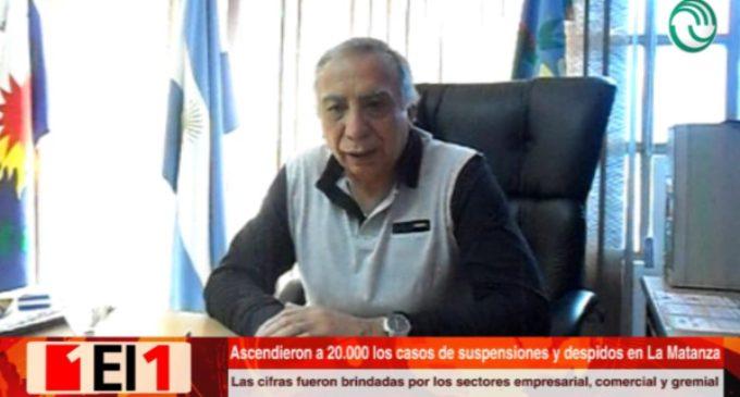 Advierten que ascendieron a 20.000 las suspensiones, retiros y despidos en La Matanza