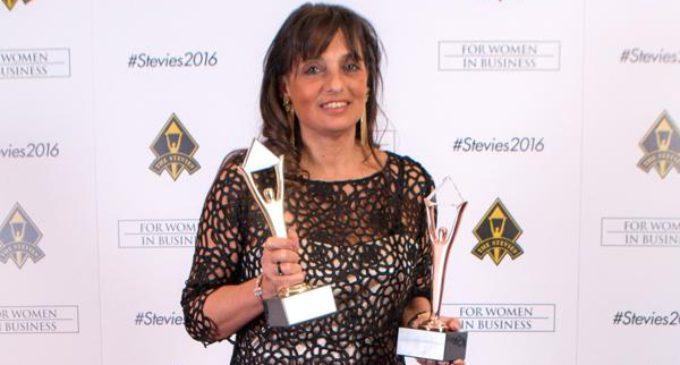Viviana Zocco fue premiada como la emprendedora del año de América Latina