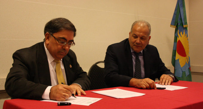 La UNLaM firmó un convenio con la Escuela de Abogados de la Administración Pública provincial