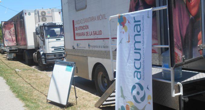 KLAUKOL: avanza el operativo de ACUMAR en el barrio Las Mercedes