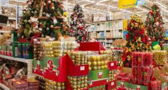 Las ventas navideñas cayeron 2,1 por ciento y cerraron un año difícil para el consumo minorista