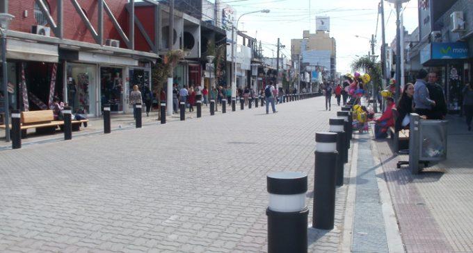 """""""Las ventas bajaron en todo el país"""", reconocen comerciantes del centro de San Justo"""