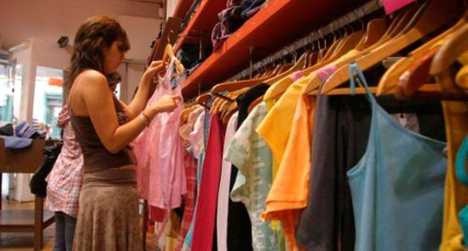 En diciembre, las ventas minoristas cayeron un 5,4 por ciento