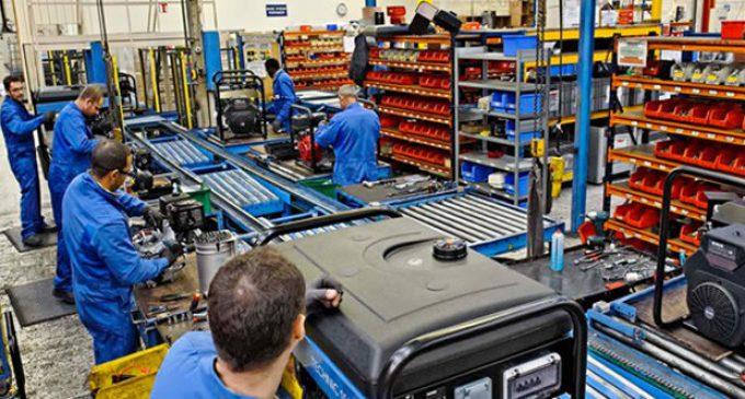 La Producción del as PYMES industriales bajó