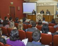 La UNLaM llevó adelante una jornada sobre la Ley de Blanqueo de Capitales