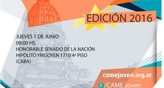 Premio Joven Empresario Argentino Honorable Senado de la Nación Argentina