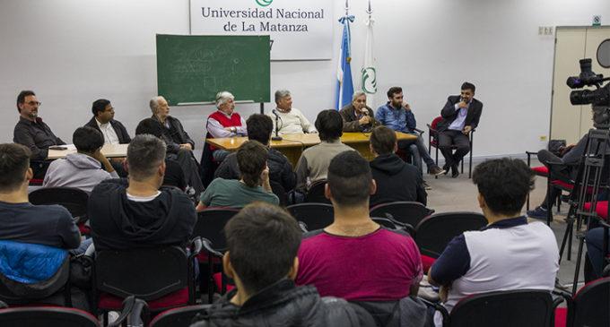 La UNLaM realizó una charla para alumnos de escuelas técnicas