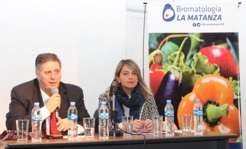 """Se llevó a cabo un Seminario de """"Actualización de Alimentos"""" organizado por la Secretaría de Salud de La Matanza"""