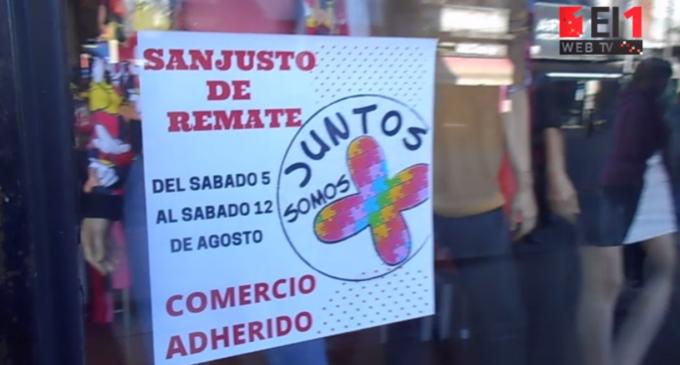 """""""San Justo de Remate"""", una semana de ofertas para reactivar el consumo"""