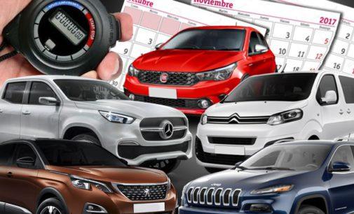 Las automotrices preparan platos fuertes para el cierre del año, en un mercado que aspira a vender 900.000 unidades