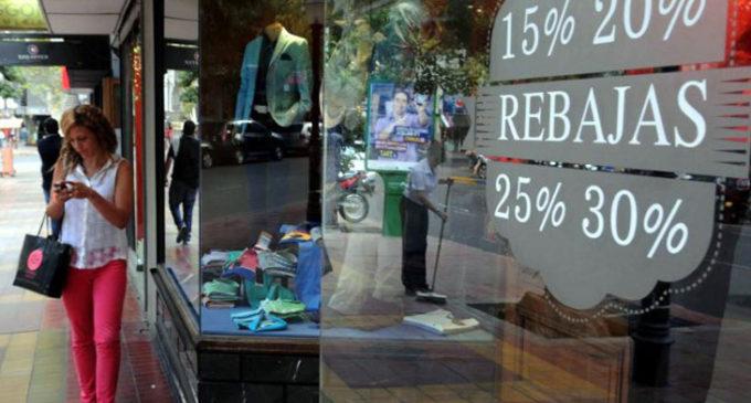 En los primeros ocho meses del año, las ventas cayeron 2,6 por ciento en la Provincia