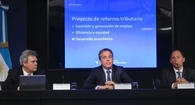 El Gobierno presentó su proyecto de reforma tributaria