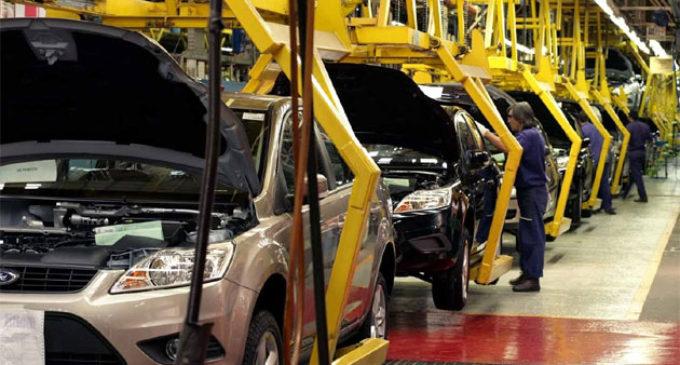 La producción automotriz cae a su nivel más bajo en dos años